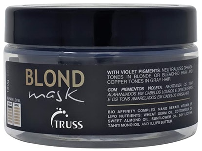 Truss Blond Mask For Blonde, Bleached, And Gray Hair