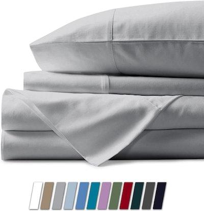 Mayfair Linen Hotel Collection 100% Egyptian Cotton Sateen Sheet Set