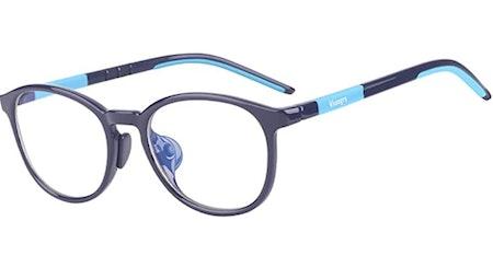 Vseegrs Kids Computer Glasses Video Gaming Glasses - Kids Blue Light Blocking Glasses