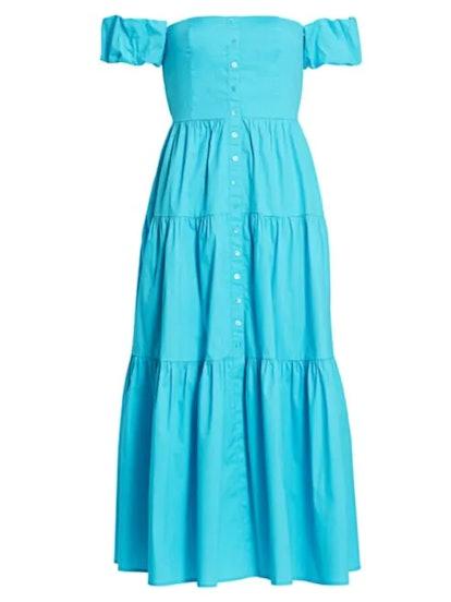 Elio Puff Sleeve Prairie Dress