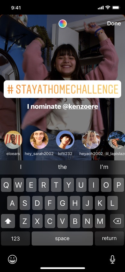 You can create your own challenge with Instagram's new sticker addition.