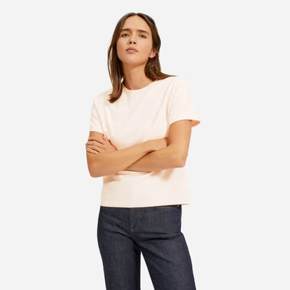 The Organic Cotton Box-Cut Tee