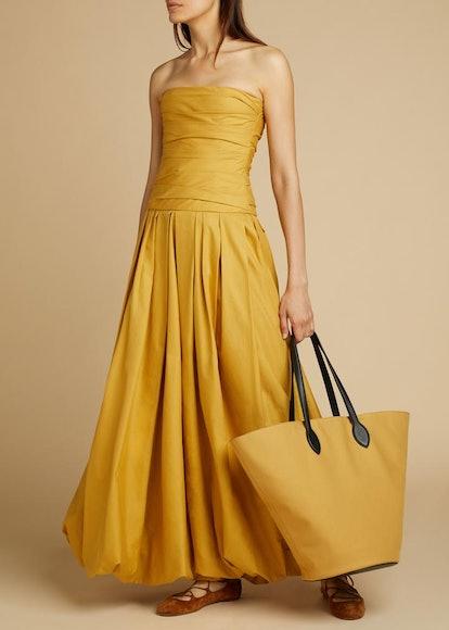 THE INGRID DRESS in Dijon