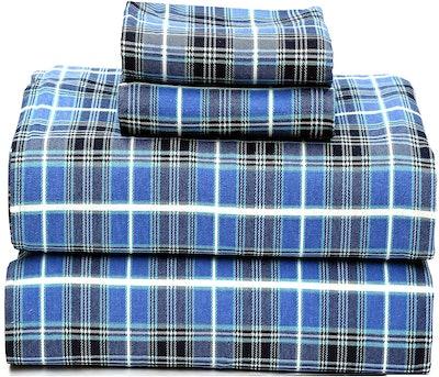 Ruvanti Flannel Bed Sheets