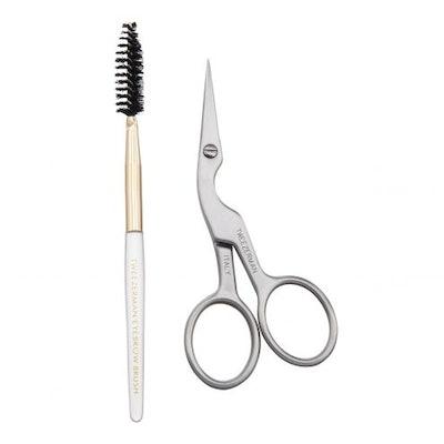 Brow Shaping Scissors & Brush