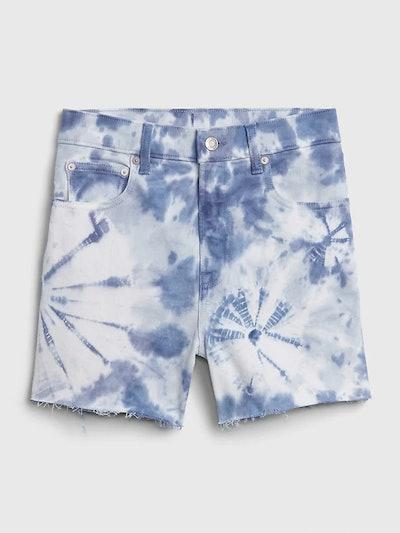 """4"""" High Rise Denim Shorts"""