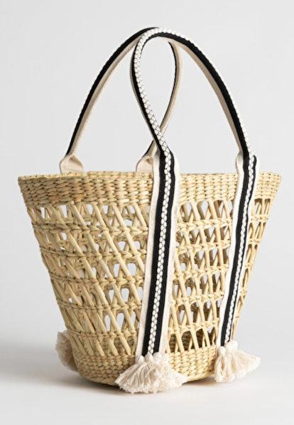 Woven Straw Bag