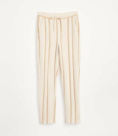 Sunline Textured Terry Sweatpants