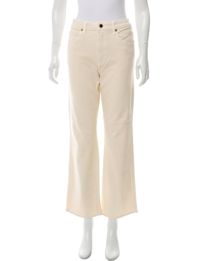 High-Rise Wide-Leg Jeans w/ Tags