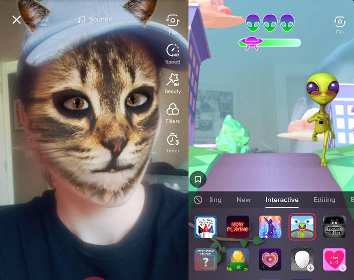 Here's how to use interactive TikTok filters so you can change up your posts.