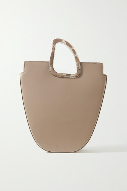 Ourea Leather And Resin Tote