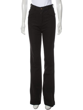 High-Rise Wide Leg Jeans w/ Tags