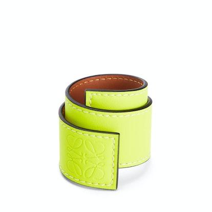 Small Slap Bracelet In Classic Calfskin