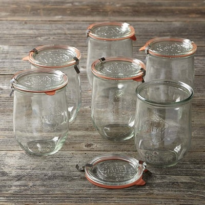 Weck Tulip Jar, Set of 6