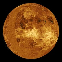 Why does Venus' atmosphere spin much faster than the planet?