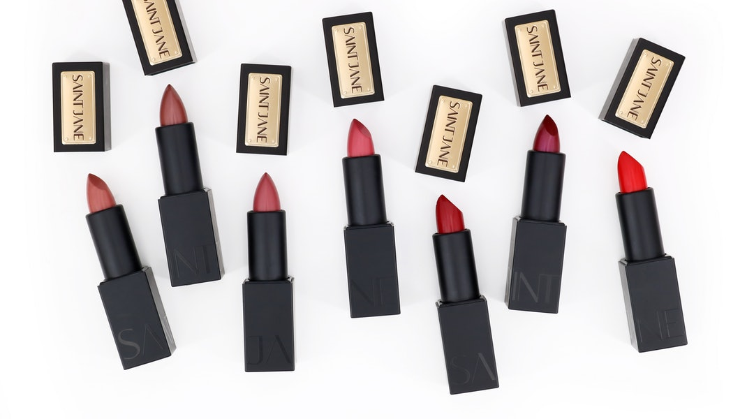 Saint Jane's newest launch is a line of its first ever lipsticks.