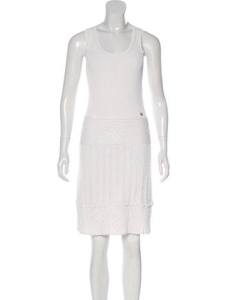 Sleeveless Knee-Length Dress