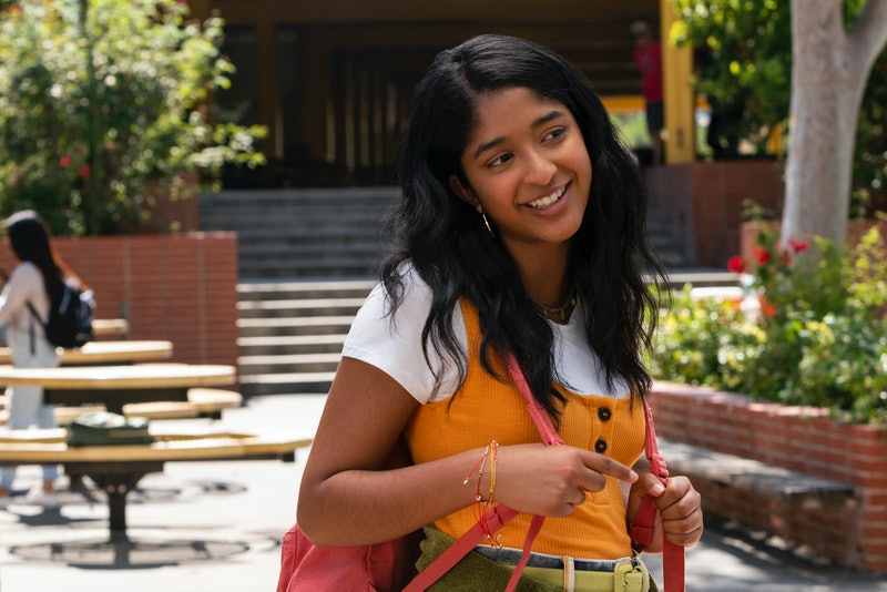 'Never Have I Ever' Actor Maitreyi Ramakrishnan as protagonist Devi.