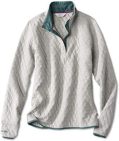Orvis Quilted Half-Zip Sweatshirt