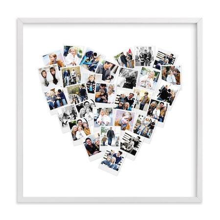 Heart Snapshot Mix Photo Art