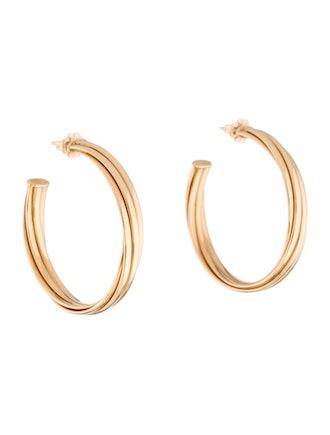 18K Melody Hoop Earrings