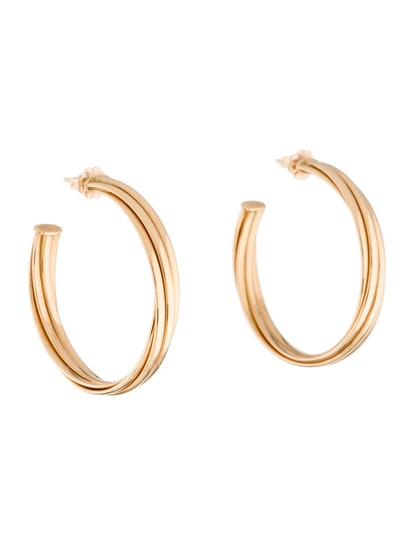 18K Melody Hoop Earrings