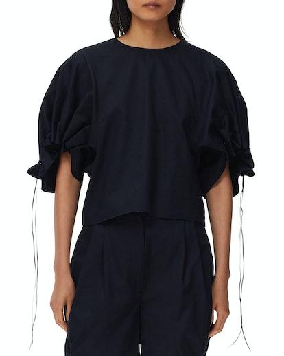 Harrison Chino Drawcord Sleeve Top