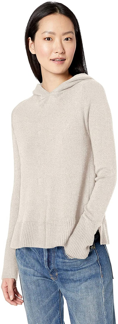Daily Ritual Wool Blend Hooded Pullover Sweater
