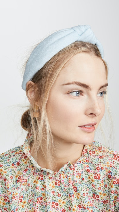 Terry Cloth Knotted Headband