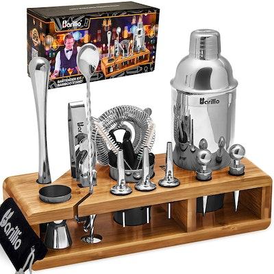barillio Bartender Kit (23-Piece Set)