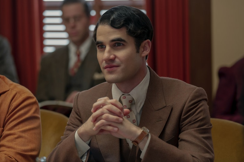 Darren Criss as Raymond Ainsley in 'Hollywood' on Netflix