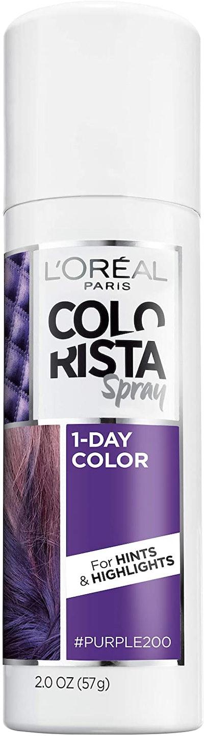 L'Oreal Paris Colorista 1-Day Temporary Hair Color Spray
