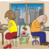 6 tips to actually get work done at home, from the parenting experts
