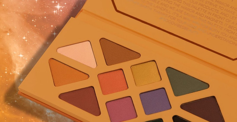Inside look at shades from Aether Beauty's Joshua Tree Desert Matte Eyeshadow Palette.