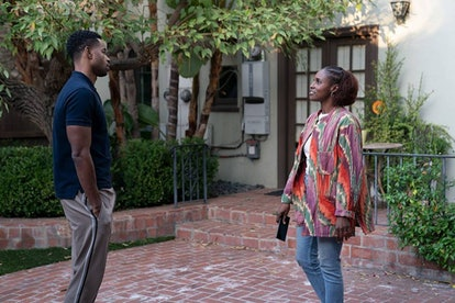 Jay Ellis and Issa Rae in HBO's Insecure