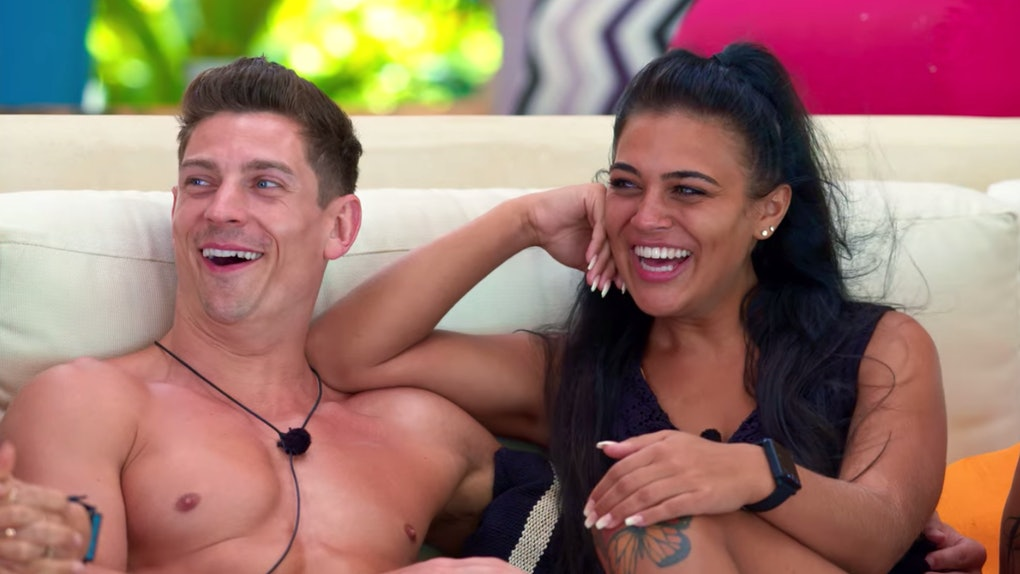 David and Lydia on 'Too Hot To Handle'