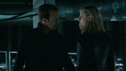 Dolores & Caleb tracked Solomon to Serac's warehouse on 'Westworld'