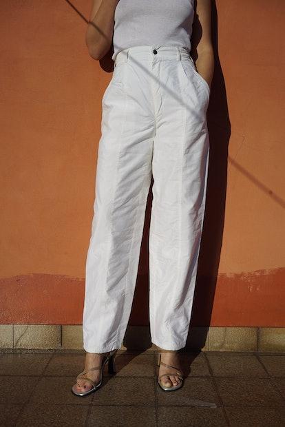 NAPLES UTILITY PANTS IN LATTE