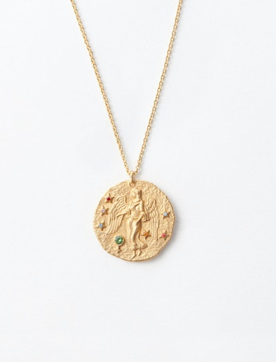 Virgo Zodiac Sign Necklace