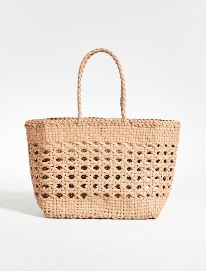 Cannage Mini Basket Bag