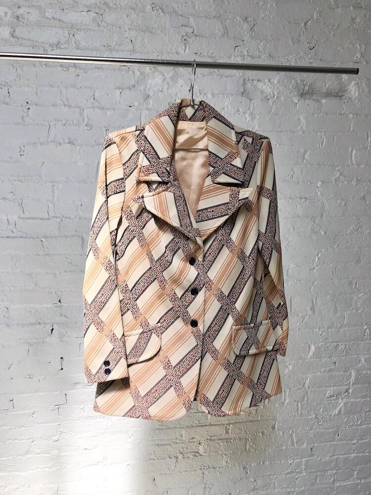Vintage 70's Pattern Blazer