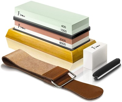 Finew Knife Sharpening Stone Kit (8 Pieces)