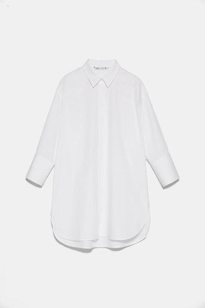 Buttoned Poplin Shirt