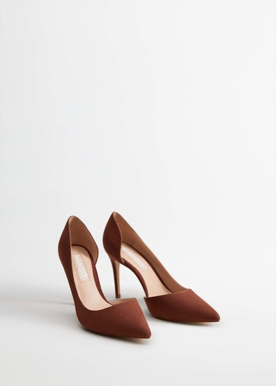 Asymmetric Stiletto Shoes