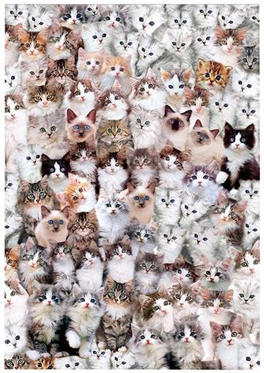 Rechiato Cat World Jigsaw Puzzle