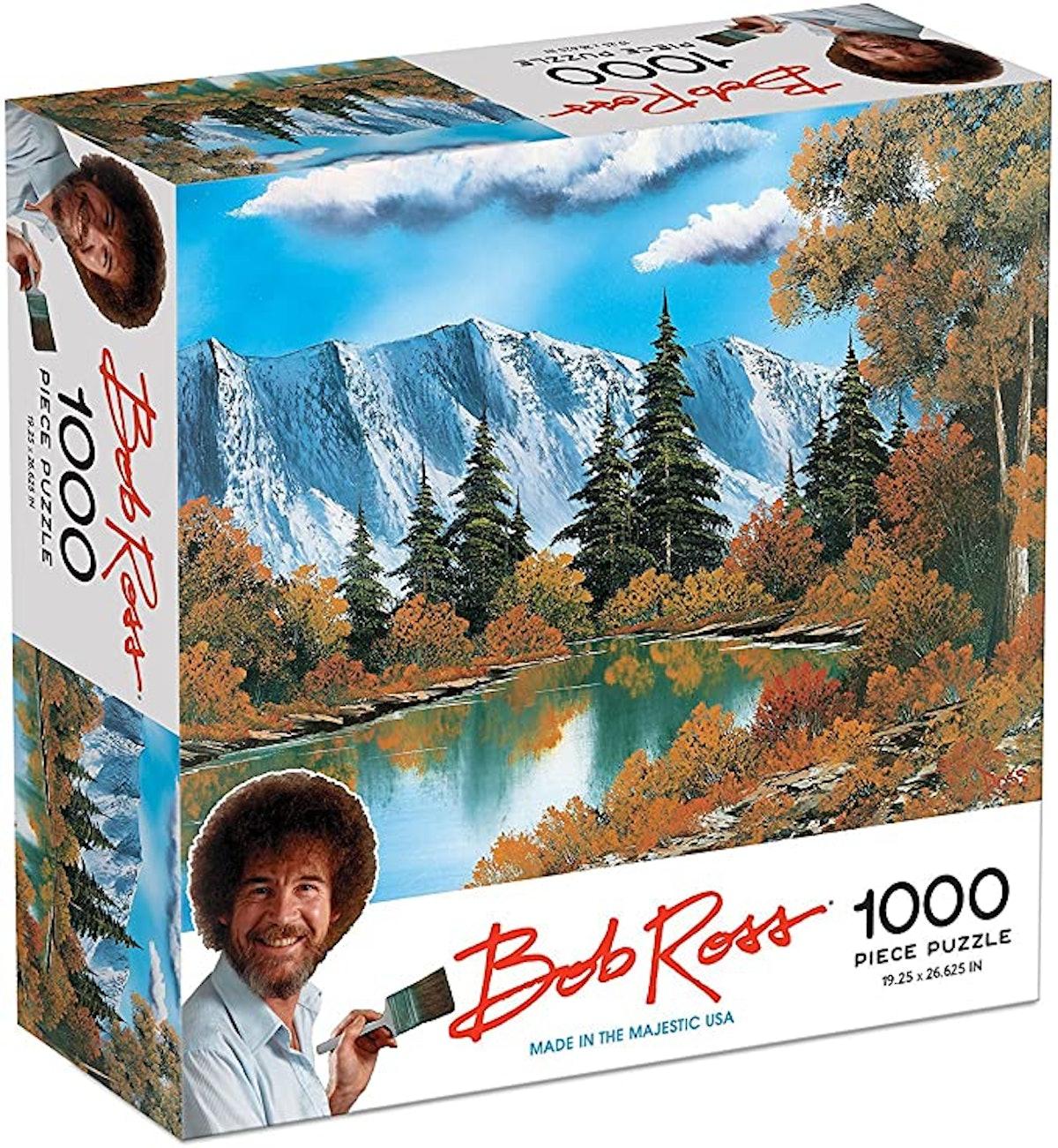 Bob Ross Autumn Woods - 1000 Piece Jigsaw Puzzle