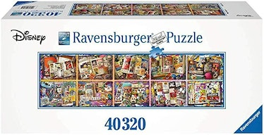 Ravensburger Mickey Through The Years 40,320 Piece Jigsaw Puzzle