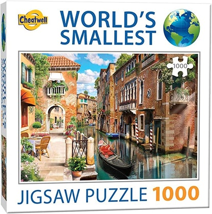 Cheatwell Games World's Smallest 1000 Piece Puzzle Venice Canals
