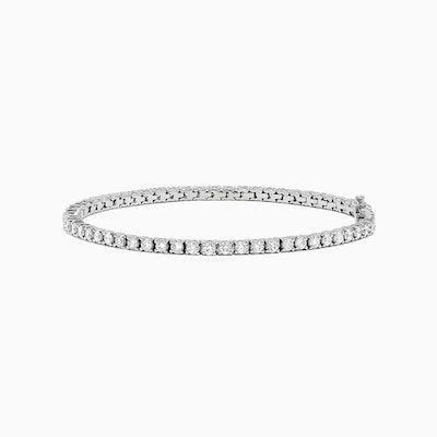 Pave Classica 14K White Gold Diamond Tennis Bracelet