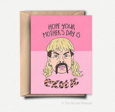 Joe Exotic Card